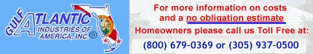 Gulf Atlantic Industries South Florida General Contractor, specializing in Roofing, Residential, Hi-Rise, Condo Unit Remodeling, Home Improvement, and Light Commercial Contracting